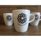 Koffiekopjes met Zeeuwse tekst